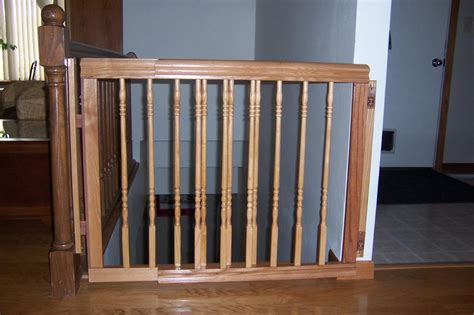 Wooden Baby Gates For Stairs With Banisters by The Best Baby Gate For Top Of Stairs Design That You Must