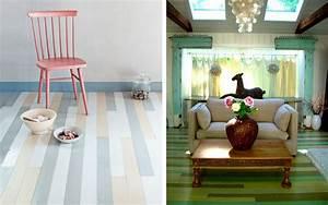 Deco Multicolore : parquet multicolore ~ Nature-et-papiers.com Idées de Décoration
