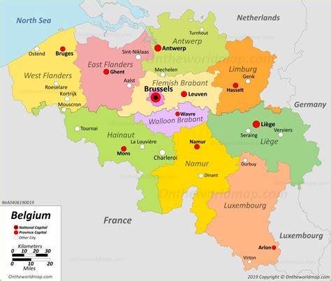 belgium maps maps  belgium