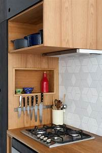 1001 idees pour une petite cuisine equipee des for Idee deco cuisine avec cuisine Équipé avec Électroménager pas cher