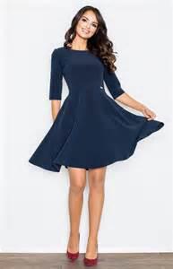 robe bleue mariage robe patineuse bleu marine flm327bl idresstocode boutique de déshabillés et nuisettes robes