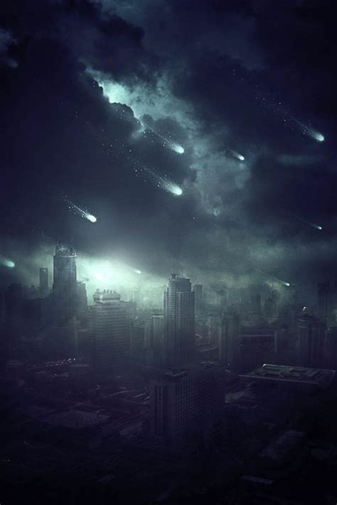 create  apocalyptic sci fi photo manipulation