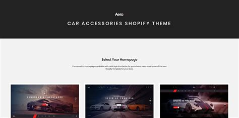 Build A Car Website by Shopify Website Templates That Can Do Wonders