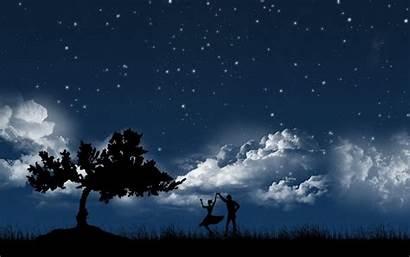 Sky Night Wallpapers Background Desktop Stars Dark