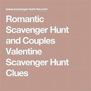 25 Best Ideas About Anniversary Scavenger Hunts On