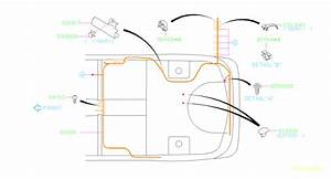 Subaru Forester Harness-rear  Wiring  Main  Electrical  Airbag