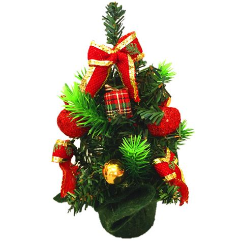 20cm height artificial mini christmas tree festival party