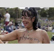 Woman To Go Topless Sunday Protesting Laws That Discriminate Against Female Breasts Sfgate