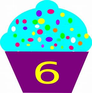 6th Birthday Cake Clipart - Clipart Suggest