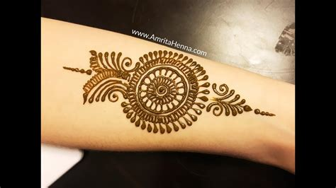 step by step arm henna mehndi design learn easy mehendi for arms