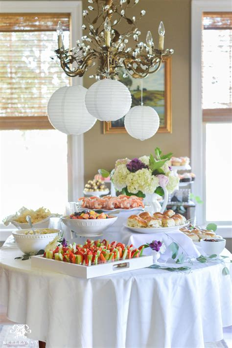 Best Food For Bridal Shower by Ideas To Throw An Indoor Garden Bridal Shower