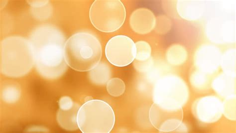 warm flying bokeh lights abstract stock footage video
