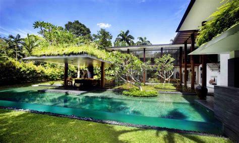 luxury singapore homes indoor outdoor architecture
