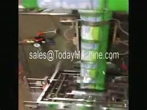 gusset bag + pillow bag packing machine fully automatic ...