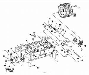 Bunton  Bobcat  Ryan 942211a  52 Side Discharge Parts Diagram For Brakes  Rear