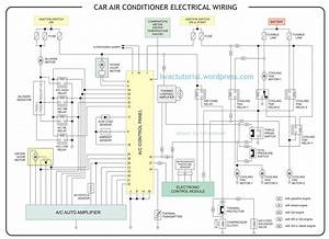 Car Air Conditioner Electrical Wiring
