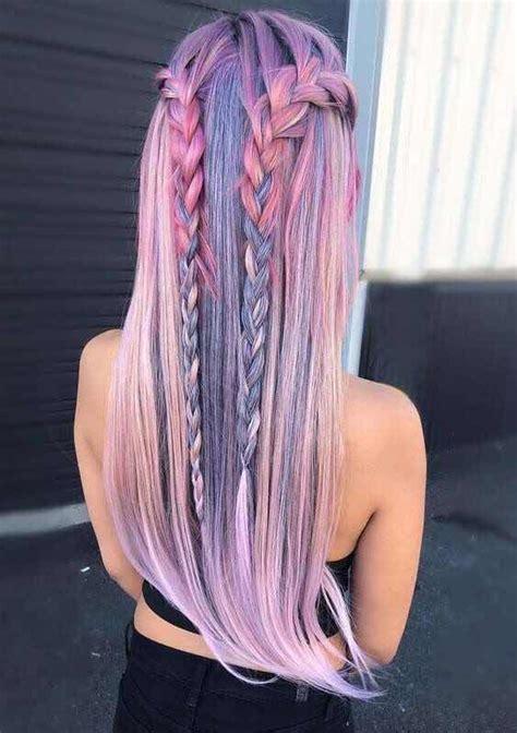 tendencias fantasticas de peinados de colores