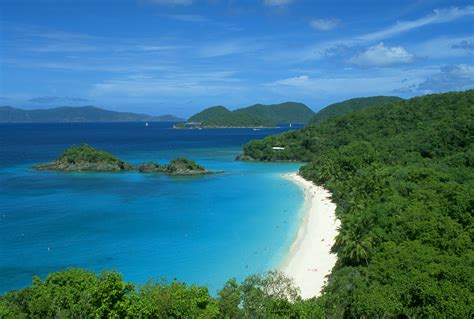 virgin islands national park cruz bay  virgin islands