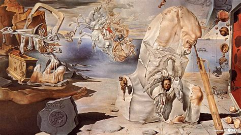 Salvador Dalí, Painting, Fantasy Art, Symbolic, Classic