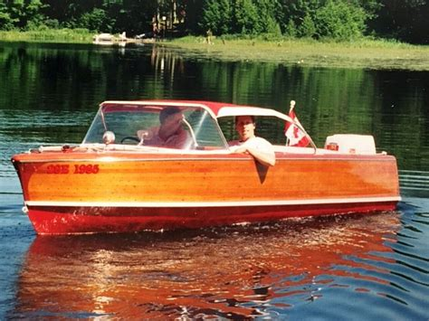 Boat Trailer Rental Peterborough by Peterborough Cedar Boat For Sale Exceptional 16