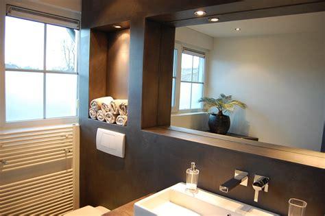 badkamer waterdicht zonder tegels ron stappenbelt ron stappenbelt interieurontwerp advies