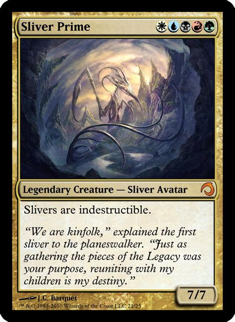 magic the gathering sliver deck legacy frompo home page