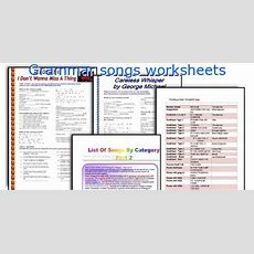 English Teaching Worksheets Grammar Songs