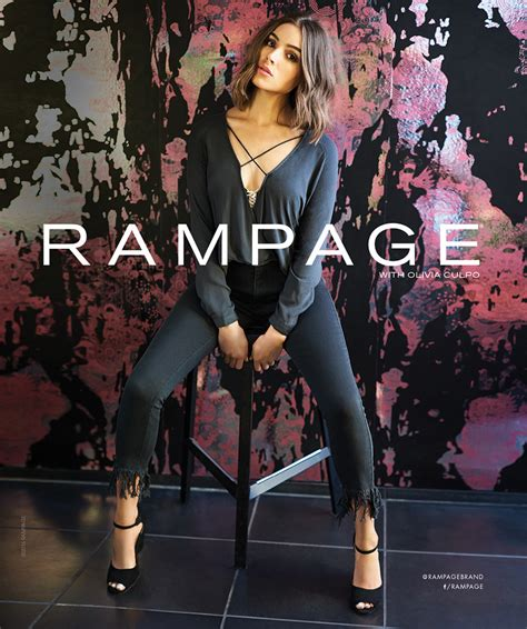 An Exclusive Moment with Rampage's New Face: Olivia Culpo