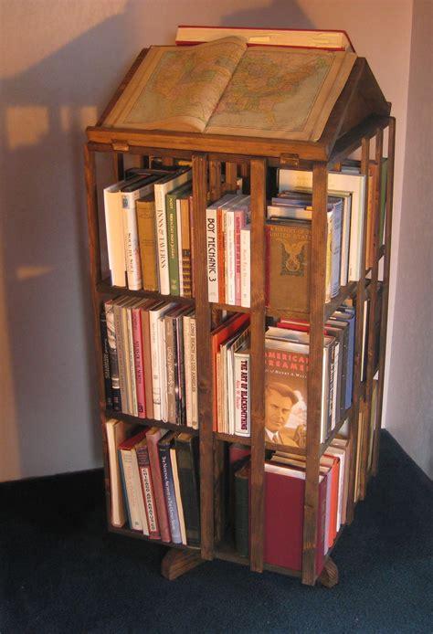 decorating breathtaking revolving bookcase  charming