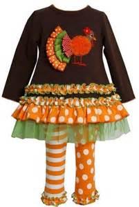 bonnie jean baby thanksgiving turkey brown dress legging 12m clothes