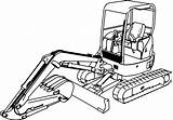 Excavator Coloring Digger Pages Mini Drawing Hitachi Colouring Truck Clipartmag Inspired Entitlementtrap Popular Wecoloringpage sketch template