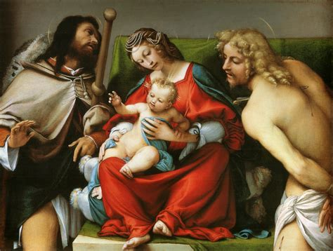 Madonna With St. Roch And St. Sebastian, C.1522