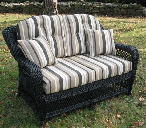 wicker settee replacement cushions wicker settee cushions sale home design ideas
