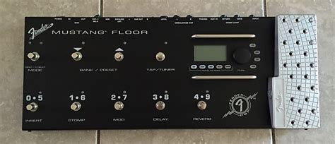 Fender Mustang Floor Board by Fender Mustang Floor Guitar Multi Effects Pedal Unit Reverb