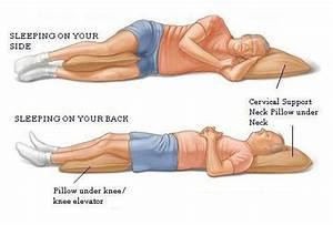 sleep posture vitafoam blogs With backache while sleeping
