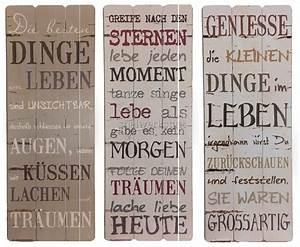 Sprüche Auf Holz : dekoschild poesie motivierende lebensfrohe spr che wandbild holz ~ Orissabook.com Haus und Dekorationen