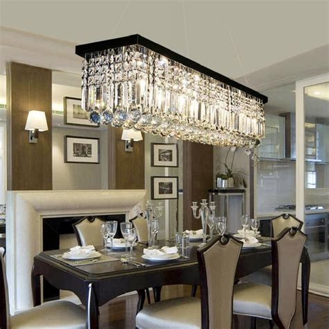Chandeliers Dining Room by Rectangular Chandelier Dining Room Pendant Light