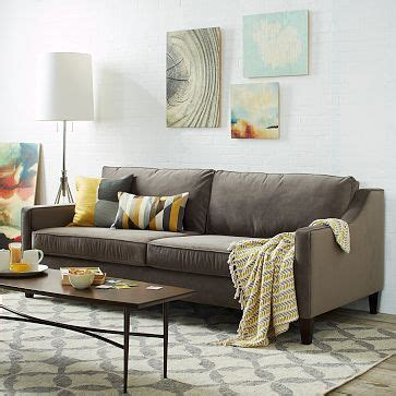 paidge sofa grand westelm home pinterest sofas