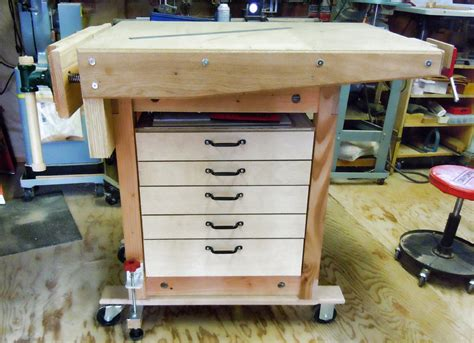 rolling workbench  jimmeek  lumberjockscom