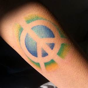 55+ Best Peace Sign Tattoo Designs - Anti-War Movement ...
