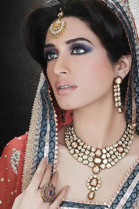 Bridal hairstyles in pakistan