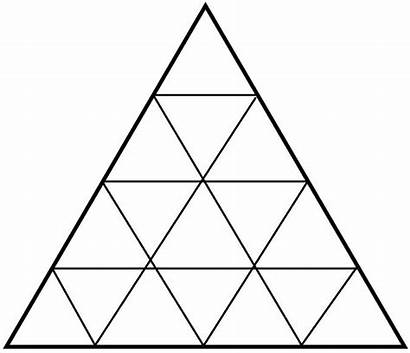 Triangles Many There Counting Shape Worksheets Maths