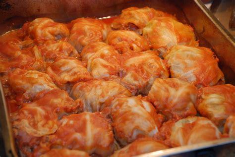 stuffed cabbage stuffed cabbage gołąbki food sharing network