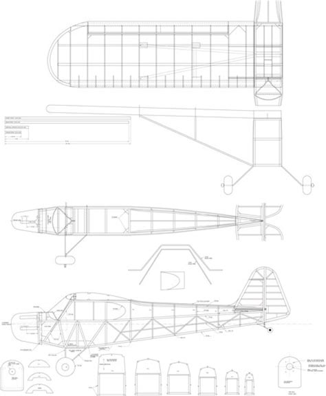 Size 60 Piper Cub Plans