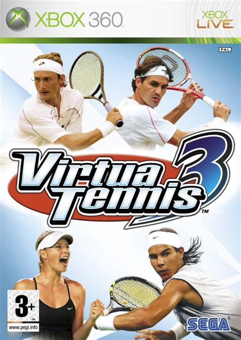 Virtua tennis 4 with the playstation move is more than just hitting the ball; Virtua Tennis 3 para Xbox 360 - 3DJuegos