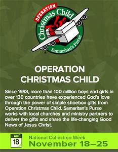 Operation Christmas Child Pack a Shoebox Jack ShoeboxSi
