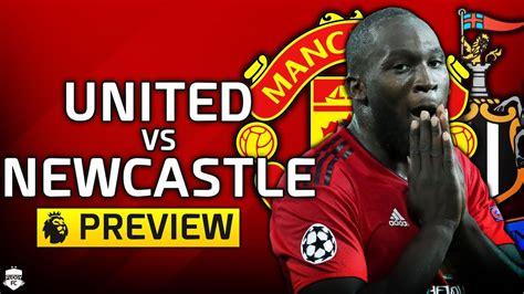Manchester United vs Newcastle United | PREMIER LEAGUE ...