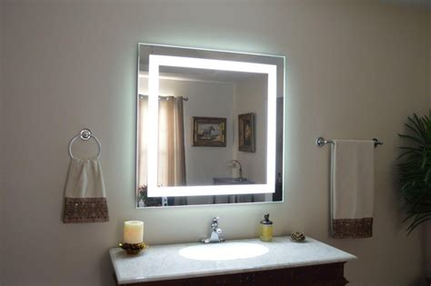 Bathroom Mirrors With Built In Lights by 20 Inspirations Vanity Mirrors With Built In Lights