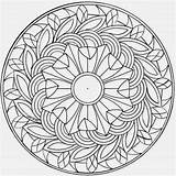 Coloring Complex Pages Flower sketch template