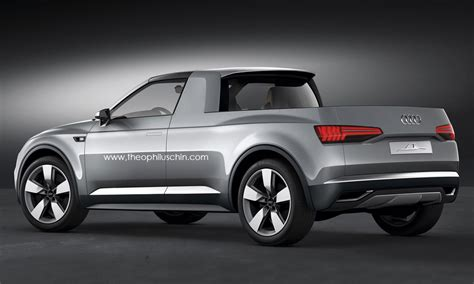 Audi Crosstown Coupe Is The Pickup Truck We'll Never Get